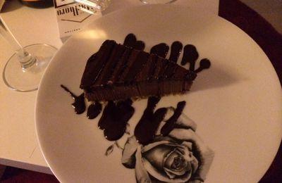 Gâteau noir désir Crudessence