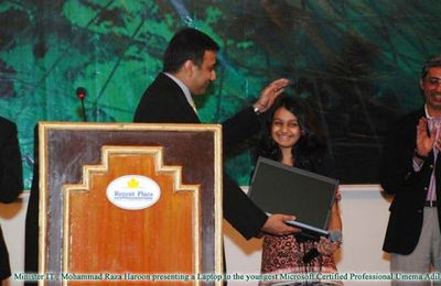 Pakistani Girl Became World's Youngest Microsoft Certified Professional (MCP) in Asp.Net