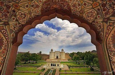 Beautiful View of Lahore Fort