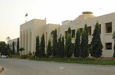 Beautiful View of Sindh Assembly Building Pakistan