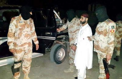 Uzair Baloch arrested in Karachi