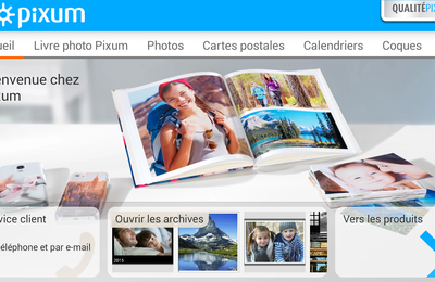 Application mobile android Livre photo Pixum
