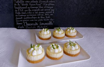 Cheesecake Limoncello d'après Christophe Michalak