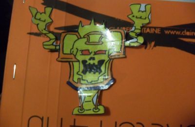 Robot Sticker!!!