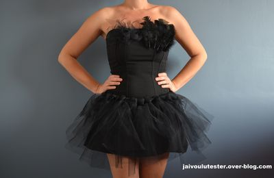 ... le tutu facile et costume Black Swan