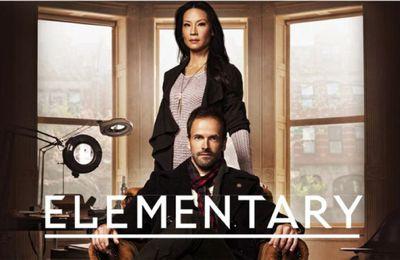 Le coffret dvd de la saison 1 de Elementary disponible à la vente (extrait)