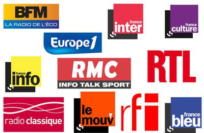 La liste des invités radio du jeudi 3 avril (avec podcasts)