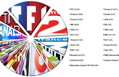 L'audience de la TV du 14 au 20 septembre 2015 (semaine 38)