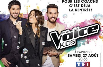 The Voice Kids leader en hausse sur TF1