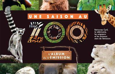 Une saison au zoo ! se décline en livre en vente le 26 octobre