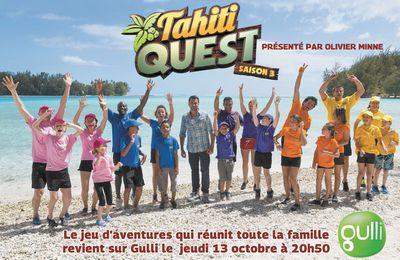 Olivier Minne aux commandes de la saison 3 de Tahiti Quest dès ce soir sur Gulli