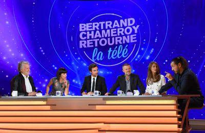 Bertrand Chameroy retourne la télé en prime ce soir sur W9