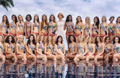 Les 30 candidates de Miss France 2018 iront cet automne à Los Angeles