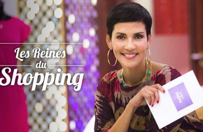 """Sophistiquée en robe cocktail pour un mariage dans """"Les Reines du Shopping"""" sur M6 (candidates)"""