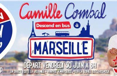 Camille Combal restera à l'antenne toute la journée pour sa dernière de la saison sur Virgin Radio