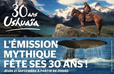 Soirée exceptionnelle sur Ushuaïa TV pour les 30 ans de l'émission (avec interview de Nicolas Hulot)
