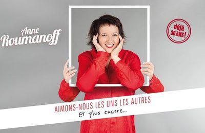 Le nouveau spectacle d'Anne Roumanoff diffusé ce soir sur Paris Première en direct de l'Olympia