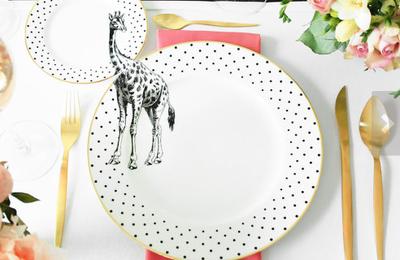 La vaisselle décorée