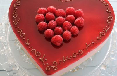 Coeur Mousse Framboise