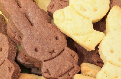 Sablés Miffy Vanille et Chocolat