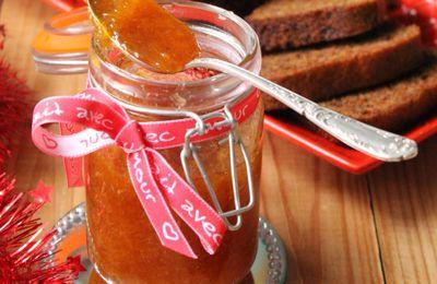 confiture abricot et thym