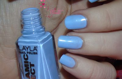 LAYLA Ceramic n°18 et son nail art