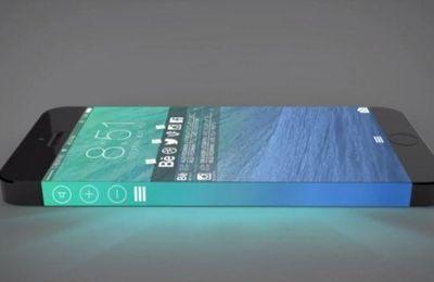iPhone 7 : un brevet déposé par Apple pour un iPhone Edge
