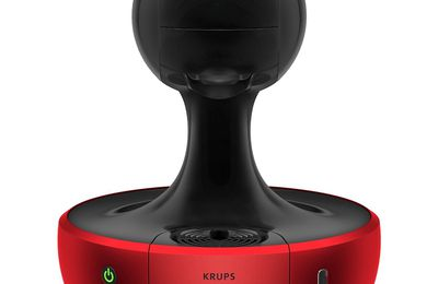 La Dolce Gusto Nescafé Drop Machine Rouge/Noir