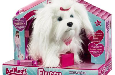 Le chien Fluffy d'Animagic