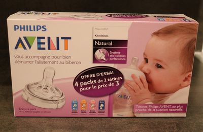 Le kit de tétines Natural de Philips Avent