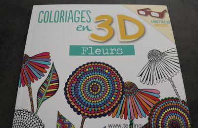 Coloriages en 3D des éditions First