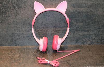 Le casque audio IC-HS01 pour enfant avec limitation BoostCare de iClever