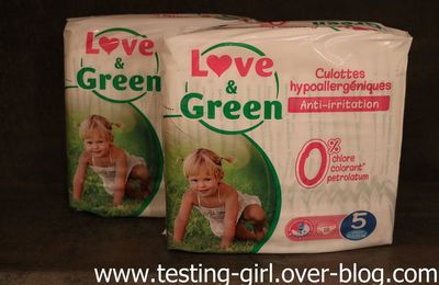 Les culottes d'apprentissage Love & Green