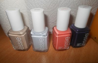 Panel Confidentielles: les vernis Essie
