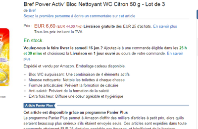 Abonnements Amazon..bon plan
