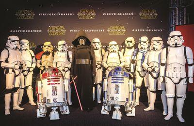 Star Wars, épisode VII : Le Réveil de la Force avant première en Belgique