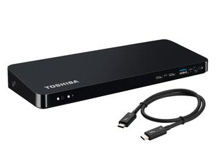 Nouvelle station d'accueil Toshiba ultra-rapide pour deux moniteurs 4K