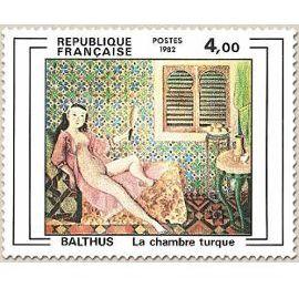 Petite pause dans la chambre turque de Balthus.