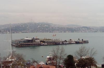 Une île sur le Bosphore, l'île de Galatasaray