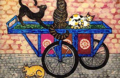 Chats et sous-verre , Mehlika Baş  chez Arkéo Pera