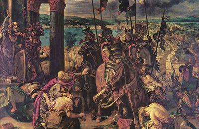 13 avril 1204 :L'Entrée des Croisés à Constantinople en deux tableaux