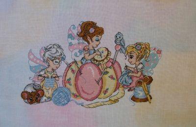 """""""Des doigts de fée"""" de Chibi-stitches"""