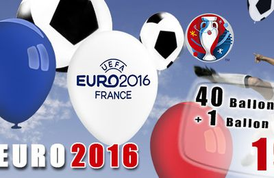 KIT BALLONS DE FOOT EURO 2016
