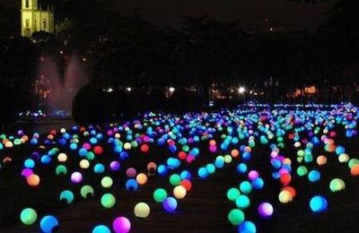 Ballon LED lumineux