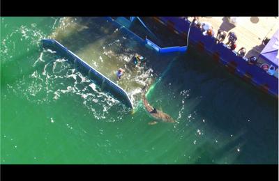 Le ballon géant détecteur de requins
