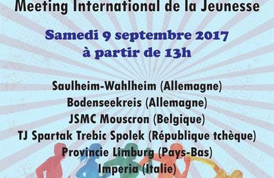 Préparation au match international benjamins et minimes de Lille ( 9 septembre)