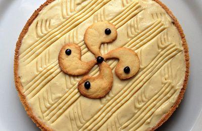 tarte fine façon gâteau basque TM5 (et TM31)