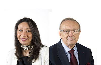 Aïcha Benbahlouli & Michel Caron