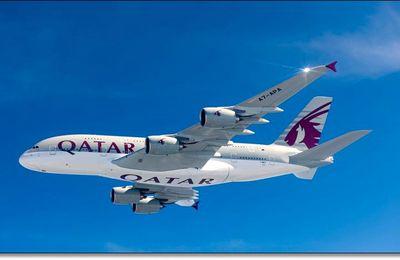 Premier A380 pour Qatar Aiways