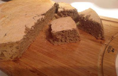 pain sans gluten teff&millet